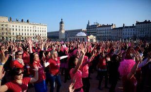 L'an dernier, 2.000 femmes avaient participé à l'opération Danser pour elles, à l'occasion de la journée de la femme à Lyon.