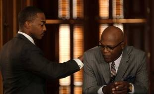 Anthony Mackie et Samuel Jackson dans « The Banker ».