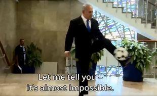 Oui, oui, c'est bien Netanyahou, là