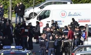 Les forces de l'ordre ont tué l'assaillant lors de l'assaut dans le supermarché de Trèbes, le 23 mars 2018.