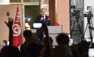 Le président tunisien Kais Saied, lundi.