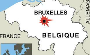 Une fusillade a éclaté devant le Musée Juif de Belgique, à Bruxelles, le 24 mai 2014.