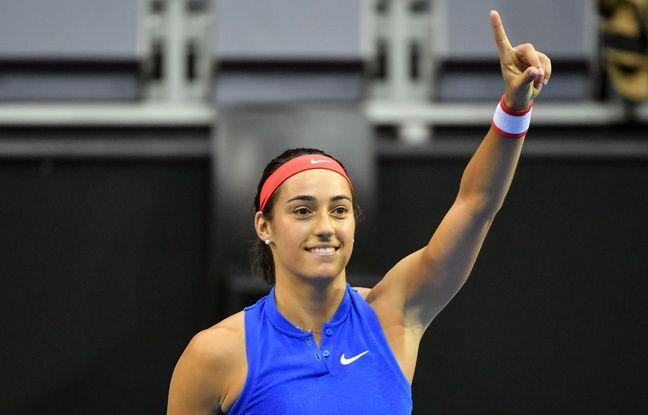 Fed Cup: La revenante Caroline Garcia envoie l'équipe de France en demi-finale