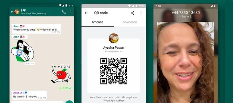 WhatsApp ajoute plusieurs nouvelles fonctionnalités