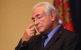 Dominique Strauss Kahn en 2013.