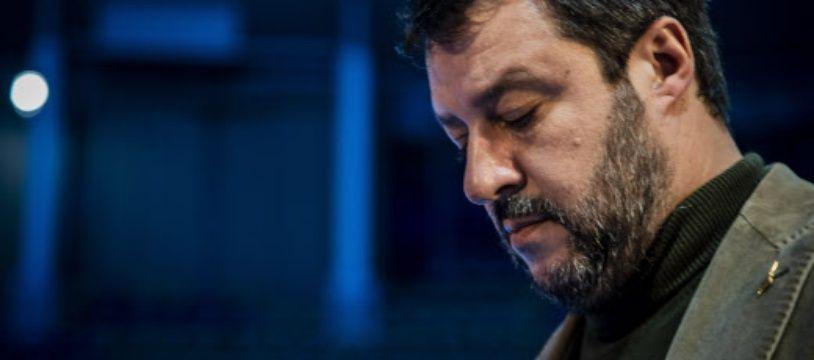 Le chef de la Ligue, parti d'extrême droite italien, Matteo Salvini.