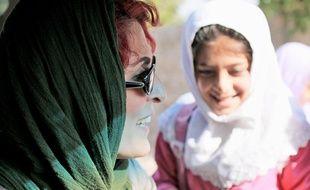 L'actrice Behnaz Jafari dans Trois Visages de Jafar Panahi