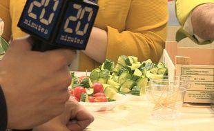 «20 Minutes« a essayé de manger un repas végétarien au Salon de l'agriculture.