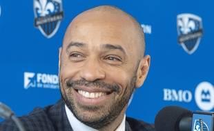 Thierry Henry a été présenté à la presse à Montréal.