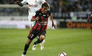 Le Niçois Fabrice Abriel, le 6 novembre dernier face à Marseille