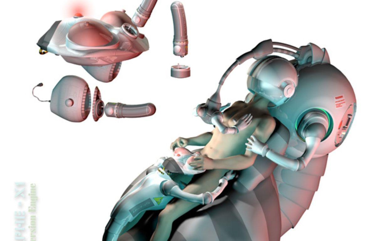 Prototype de dispositif immersif cybersexuel haptique – Yann Minh
