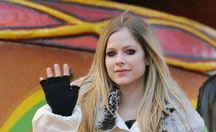 La chanteuse Avril Lavigne lors de la 85e parade de Macy's, à New York, le 24 novembre 2011.