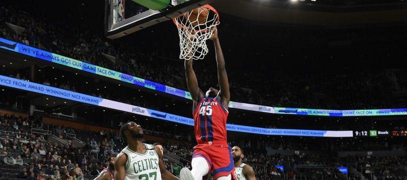 Doumbouya et les Pistons se sont imposés sur le parquet des Celtics.