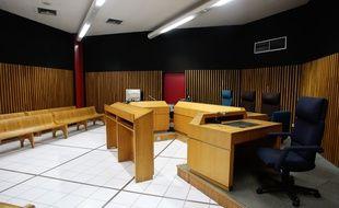 Une salle d'audience du tribunal de grande instance de Marseille