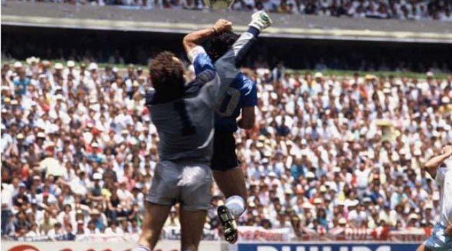Vid orama les buts c l bres de la main - Finale coupe du monde 1986 ...