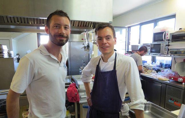Sébastien Prunier et Louis Jacquot ont lancé en février dernier Les Cuistots migrateurs.