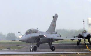 Un avion de combat Rafale, le 10 septembre 2020.