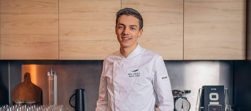 Mallory (Malou) Gabsi, candidat belge de l'émission Top Chef.