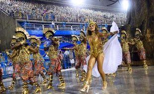 L'école de samba Viradouro a ouvert le 15 février les défilés du Carnaval de Rio de Janeiro