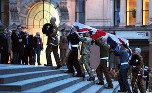 Les obsèques mercredi à Londres de Margaret Thatcher, dont la mort a suscité des réactions virulentes, se dérouleront sous haute sécurité de crainte que ses détracteurs ne perturbent la procession funéraire, dans une ultime attaque à l'ex-Premier ministre britannique qu'ils honnissaient.