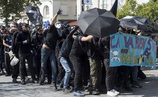 Gilets jaunes: Manifestation à Nantes