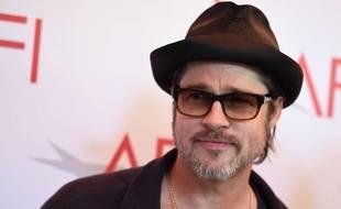 Brad Pitt à Los Angeles en janvier 2015.