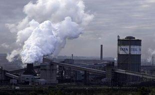 L'usine métallurgique du groupe indien Tata Steel à Scunthorpe (nord-ouest de l'Angleterre), le 17 octobre 2015