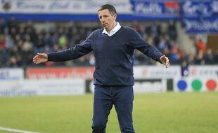 Thierry Laurey, désormais ex coach de Strasbourg.
