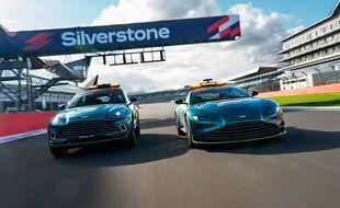 Aston Martin DBX Medical Car & Aston Martin Vantage Safety Car