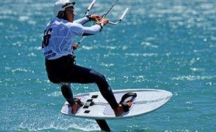 Le foil, nouvelle discipline du kitesurf