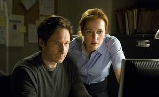 David Duchovny et Gillian Anderson dans le film «The X Files: I want to believe» en 2008.