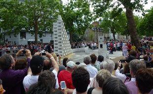 Le projet « Dominoes » a rassemblé plus de 40.000 spectateurs dimanche dans les rues de Rennes.