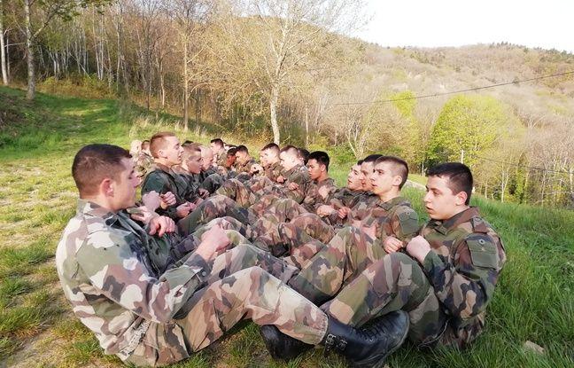 Les réservistes sont formés durant 15 jours avant de pouvoir intégrés un régiment.