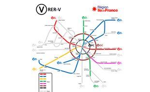 Le plan RER Vélo dévoilé par la région Ile-de-France.