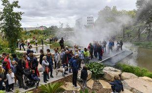 Il y avait foule samedi 28 septembre 2019 dans les allées du Jardin extraordinaire.