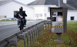 Le motard était suspecté de 156 excès de vitesse. Illustration.