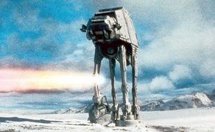 Un quadripode de «Star Wars: L'empire contre-attaque»