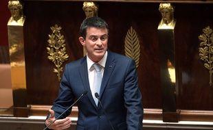 Le Premier ministre Manuel Valls défend la prolongation de l'état d'urgence devant les députés le 19 juillet 2016.