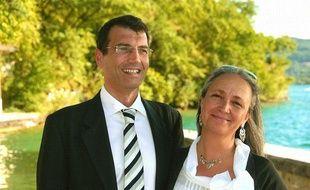 Xavier Dupont de Ligonnès et son épouse Agnès