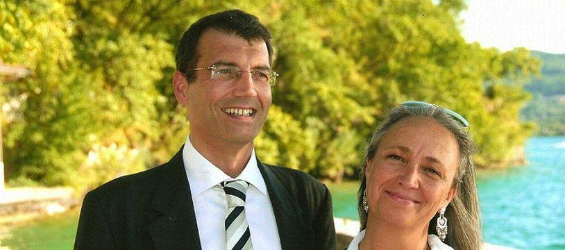 Xavier Dupont De Ligonnès et son épouse
