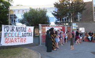 Des parents d'élèves se sont mobilisés pour soutenir le projet pédagogique Freinet de leur école de quartier, à Mons-en-Barœul.