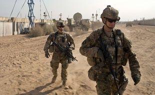Des soldats américains en Irak (illustration).