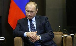 Le président russe Vladimir Poutine, le 24 novembre 2015 à Sotchi