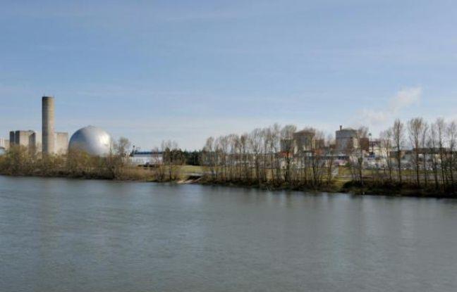 La centrale nucléaire de Chinon.