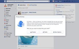 Facebook se dote d'une petite mascotte pour plus de pédagogie.