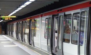 Les régulateurs sont mobilisés depuis le 12 novembre 2018 dans le métro à Lyon. Illustration.