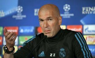 Zinédine Zidane, avec le Real Madrid.