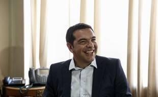 Le Premier ministre grec Alexis Tsipras à Athènes, le 5 août 2015.