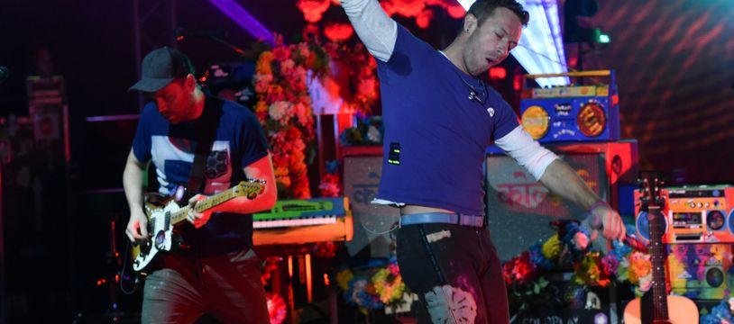 Les rockeurs de Coldplay