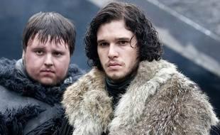John Bradley-West et Kit Harington dans la saison 1 de «Game of Thrones».